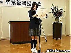 Japanilainen vauva vuoden graduation