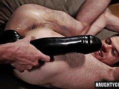 Big Dick Homosexuell Flip Flop mit Gesichtsbehandlung