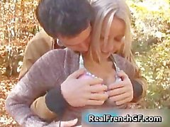 Teen french bombshell forest fucking fun part6