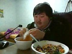 Chinese Blindgänger aus auf Nahrung Rucken
