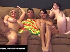 4some! Maggie green jennifer branca & lylith lavey caralho caralho!