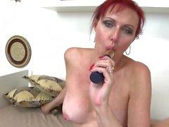 Beautiful mature mom having taboo sex