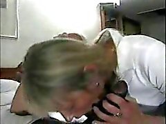 English wife and her black lover hot cuckold action