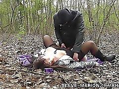 Gerçek seks köle, fedakar, cezalandırıldı, çetele