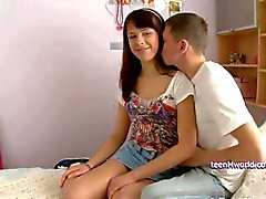 Very nice adolescente Dania creampied