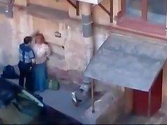 Public sex hidden cam