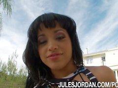 Abella Anderson interrazziali Black Cock Slut
