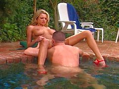 Briana Banks opens both holes
