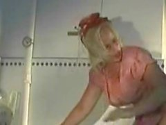 Blonde Vintage Maid Have Sex In Kitchen