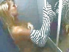 Spy cam of milf naked in dressing room