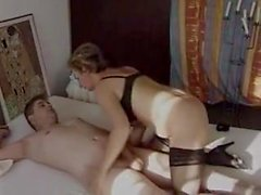 Mature is well fucked by young cock