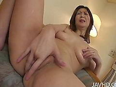 Sultry brunette hair hair Japanese mother I'd like to fuck Nanako Yoshioka gets rug munch