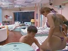 BBB10 Big Brother Brasil 10 büyük Bunda Brasil Cacau Claudia