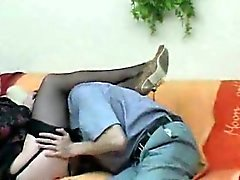 Auspicious Pantyhose Mature Seduced And Rammed
