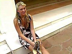 Alison Almost Caught Masturbating Outdoors