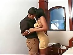 Indian Wife D'ed front Of Husband