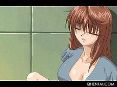 Большой сиськастый подростка Hentai девушки задница выебанная жесткий становится все мокрое