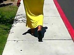 Big Ass In Yellow Dress