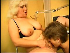 wealthy European blonde MILF like them young and hung