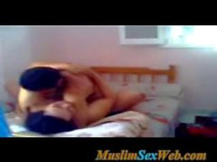 arab muslim girl wearing niqab fuckiing with her lover