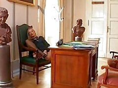Lucie Lee Strips Off Her Uniform...