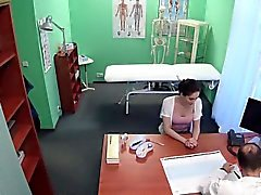 Sexy Russian babe Aruna gets fucked by horny doctor