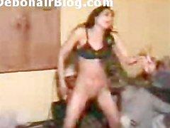 Pakistani Girl nude bottomless Mujra Dance during Paki Porn Clip