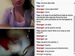 Webcam blixt med sperma i tungan
