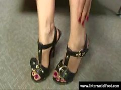 Black Meat White Feet - Sex with legs - foot fetish 06
