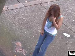Amazing Asuka got banged outdoors very hard