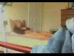 my Moms solo orgasm recorded with hidden camera