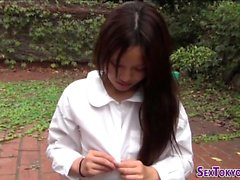Asian teen gets railed