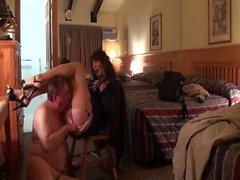 sexy Transe lutschen und ficken im Hotel