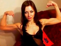 cam girl flexing compilation