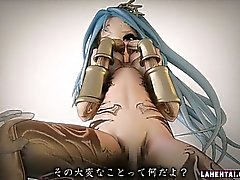 Cute 3d girl gets facialed and fucked