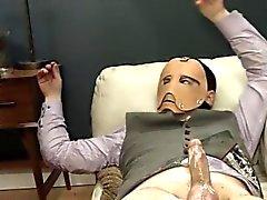 de luxo BDSM acção Sexo Anal com corda e cabrão
