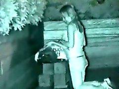 Nachtsicht Spycam Outdoor Sex Zeugen
