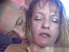 Glamour model creampie