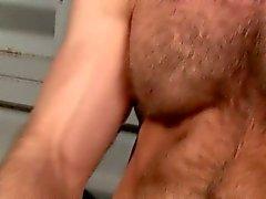 Männlich sein Bear Fänge Sperma