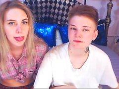 Uusi webcam teini amatööri