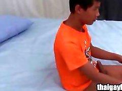 Thailändische Homosexuell Junge Hon an heissen Selbstbefriedigung Squirting