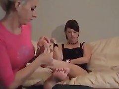 Megan's feet worship