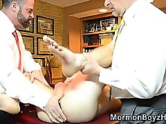 Mormon elder ass toyed