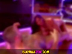 Blow Me POV - Strippers do Suck Dicks like Pros