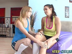 Stepsis teen lesbo tasted