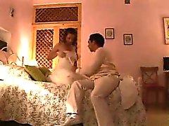 German noite pares do casamento