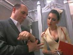 Медсестры Cybill Шовные Cock во Pussy
