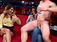 Party sluts suck stripper
