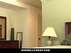 SheWillCheat - Betrug Frau Ruft Muschi gebohrte