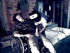 PARADISE FILMS Busty Nurse gets a creampie
